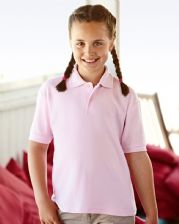 63417 Fruit Of The Loom Children's 65/35 Piqué Polo